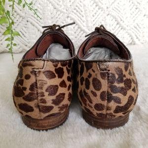 Sam Edelman Shoes - Sam Edelman Leopard print Oxfords 8